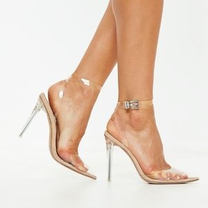 Missguided Clear Pumps